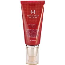 Missha M Perfect Cover krem BB z wysoką ochroną UV odcień No. 13 Bright Beige SPF42/PA+++ 50 ml