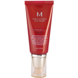 Missha M Perfect Cover ББ крем с висока UV защита цвят No. 13 Bright Beige SPF42/PA+++ 50 мл.