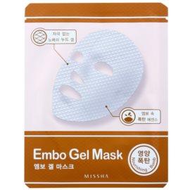 Missha Nourishing Bomb vlažilna gelasta maska  30 g
