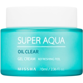 Missha Super Aqua Oil Clear hydratisierende Gel-Creme  70 ml