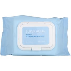 Missha Super Aqua Perfect reinigende Gesichtstücher mit feuchtigkeitsspendender Wirkung  30 St.
