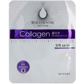 Missha Real Essential Collagen Mask For Skin Firming   25 g