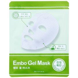 Missha Relaxing Bomb bőrnyugtató géles maszk  30 g