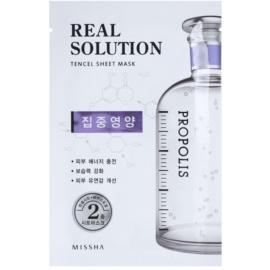 Missha Real Solution plátýnková maska s revitalizačním účinkem  25 g