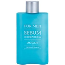Missha For Men Sebum Breaker bőr emulzió zsíros bőrre  160 ml