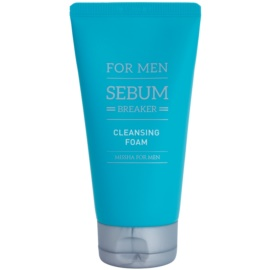 Missha For Men Sebum Breaker espuma exfoliante limpiadora  para pieles grasas  150 ml