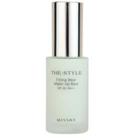Missha The Style Make-up Basis No. 01 Mint SPF 30  30 ml