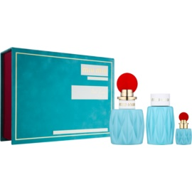 Miu Miu Miu Miu Gift Set II.  Eau De Parfum 100 ml + Eau De Parfum 7,5 ml + Body Milk 100 ml