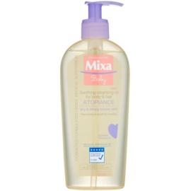 MIXA Atopiance Ulei de curățare calmantă pentru păr și piele, cu o tendință de atopie  250 ml
