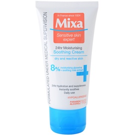 MIXA 24 HR Moisturising Moisturizing And Soothing Cream For Sensitive And Intolerant Skin  50 ml