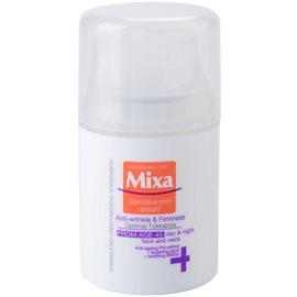 MIXA 24 HR Moisturising zpevňující protivráskový krém pro věk 45+  50 ml