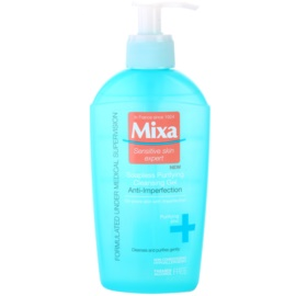 MIXA Anti-Imperfection gel facial limpiador sin jabón  200 ml