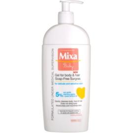 MIXA Baby душ гел и шампоан 2 в 1 за деца   400 мл.