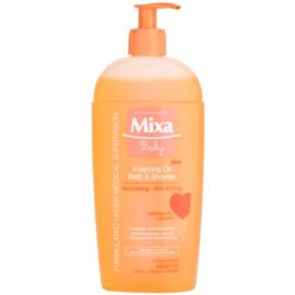 MIXA Baby habfürdő olaj fürdéshez és zuhanyzáshoz  400 ml