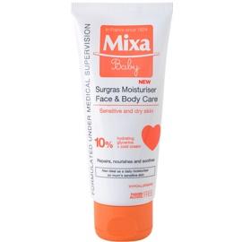 MIXA Baby krém pre deti na tvár a telo  100 ml