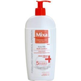 MIXA Multi-Comfort leche corporal refrescante para pieles sensibles  400 ml