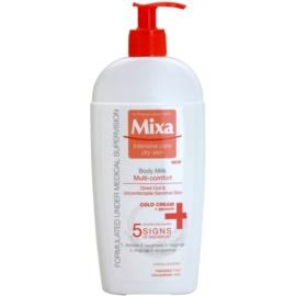 MIXA Multi-Comfort osvěžujúce telové mlieko pre citlivú pokožku  400 ml