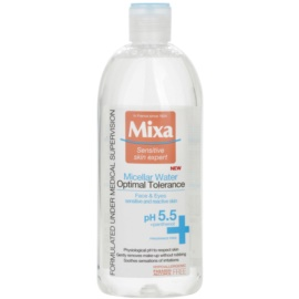 MIXA Optimal Tolerance Міцелярна вода Для заспокоєння шкіри  400 мл