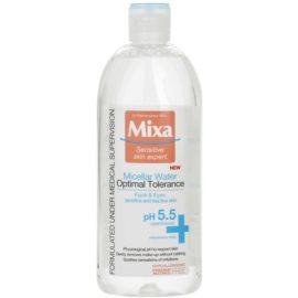 MIXA Optimal Tolerance Mizellarwasser zur Beruhigung der Haut  400 ml