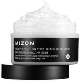 Mizon Enjoy Fresh-On Time odżywcza fasolowa maska do twarzy  100 ml