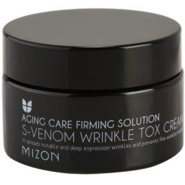 Mizon Aging Care Firming Solution creme antirrugas com veneno de serpente  50 ml