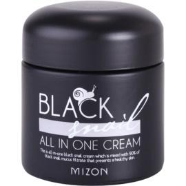 Mizon Black Snail krem do twarzy z ekstraktem ze śluzu z ślimaka 90%  75 ml