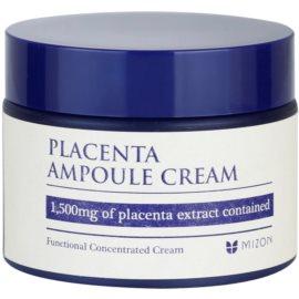 Mizon Placenta Ampoule Cream krém pro regeneraci a obnovu pleti  50 ml