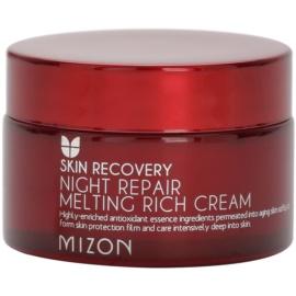 Mizon Skin Recovery noční omlazující krém pro rozjasnění pleti  50 ml