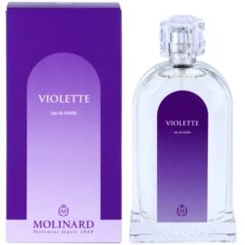 Molinard Les Fleurs Violette Eau de Toilette pentru femei 100 ml