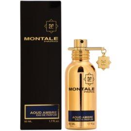Montale Aoud Ambre eau de parfum unisex 50 ml