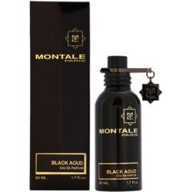Montale Black Aoud eau de parfum férfiaknak 50 ml