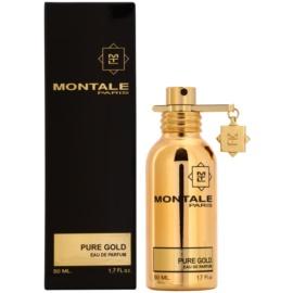 Montale Pure Gold Eau de Parfum para mulheres 50 ml