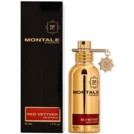 Montale Red Vetyver Eau de Parfum para homens 50 ml
