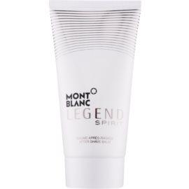 Montblanc Legend Spirit after shave balsam pentru barbati 150 ml
