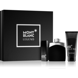 Montblanc Legend zestaw upominkowy I.  woda toaletowa 100 ml + 15 ml + balsam po goleniu 100 ml