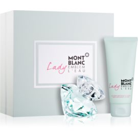 Montblanc Lady Emblem L'Eau dárková sada I.  toaletní voda 50 ml + tělové mléko 100 ml
