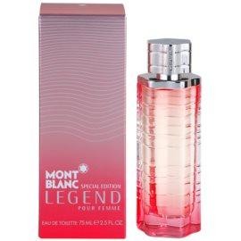 Montblanc Legend Pour Femme Special Edition 2014 toaletní voda pro ženy 75 ml