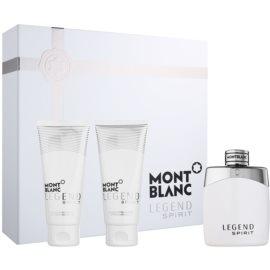 Montblanc Legend Spirit coffret cadeau II.  eau de toilette 100 ml + baume après-rasage 100 ml + gel de douche 100 ml