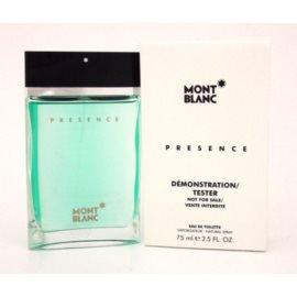 Montblanc Presence eau de toilette teszter férfiaknak 75 ml