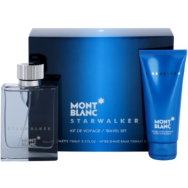 Montblanc Starwalker darčeková sada I. toaletná voda 75 ml + balzam po holení 100 ml