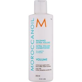 Moroccanoil Extra Volume objemový kondicionér pro jemné a zplihlé vlasy bez sulfátů a parabenů  250 ml