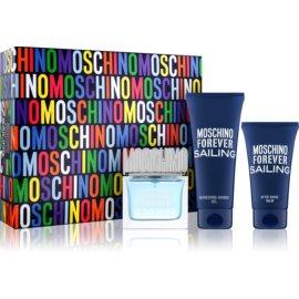 Moschino Forever Sailing Geschenkset II. Eau de Toilette 50 ml + Duschgel 100 ml + After Shave Balsam 50 ml