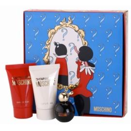 Moschino Cheap & Chic zestaw upominkowy tester dla kobiet 3 szt.  woda toaletowa 4,9 ml + mleczko do ciała 25 ml + żel pod prysznic 25 ml