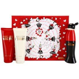 Moschino Cheap & Chic Geschenkset I. Eau de Toilette 50 ml + Duschgel 100 ml + Körperlotion 100 ml