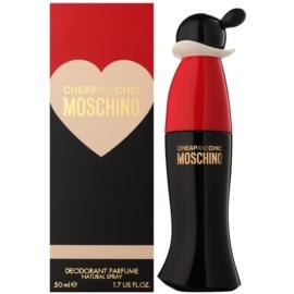Moschino Cheap & Chic Deo mit Zerstäuber für Damen 50 ml