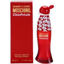 Moschino Cheap & Chic  Chic Petals toaletná voda pre ženy 50 ml