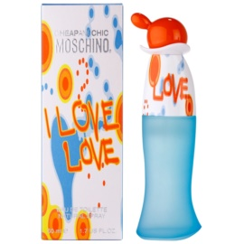Moschino I Love Love Eau de Toilette para mulheres 50 ml