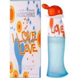 Moschino I Love Love Eau de Toilette para mulheres 30 ml
