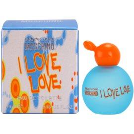 Moschino I Love Love toaletná voda pre ženy 4,9 ml