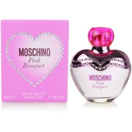 Moschino Pink Bouquet Eau de Toilette für Damen 50 ml